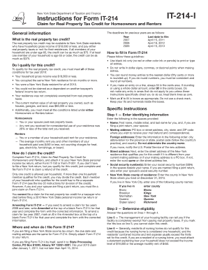 tax form it 214 and instructions for 2014
