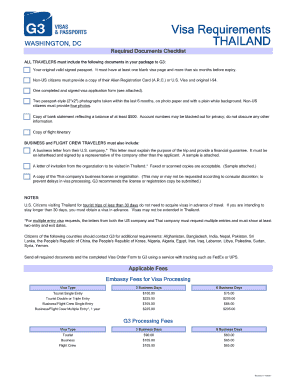 Thailand Visa Application Form Word Format Fill Online Printable Fillable Blank Pdffiller