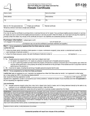Nys Sales Tax >> Sales Tax Exempt Form Ny Edit Online Fill Print Download Hot