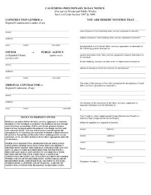 Bill Of Sale Form California Mechanics Lien Release Form Templates ...