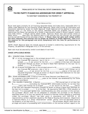 Financing Addendum - Fill Online, Printable, Fillable