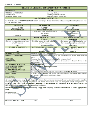19 Printable Hud 1 Closing Disclosure Forms And Templates Fillable