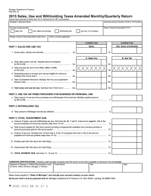 Michigan Form 5092 - Fill Online, Printable, Fillable, Blank ...