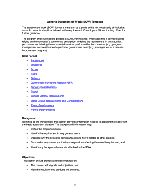 Sow template consulting services - Fill Out Online, Download ...