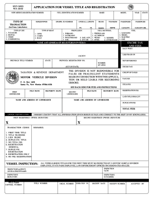 bill of sale form new mexico motor vehicle power of