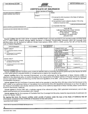 Dmv 65 Mcp Fill Online Printable Fillable Blank