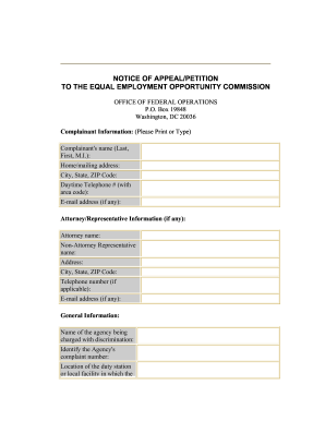 Eeoc Form 573 - Fill Online, Printable, Fillable, Blank | PDFfiller