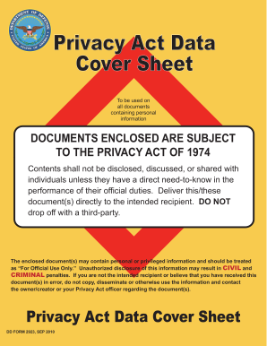printable privacy act statement form