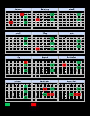 fillable online ok biweekly pay schedule calendar template calendar