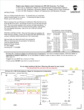 Pa Uc2 Form - Fill Online, Printable, Fillable, Blank   PDFfiller