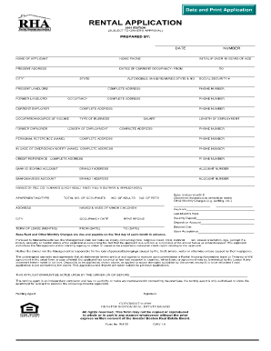 Mbhp rental application fill online printable fillable for Housing application template
