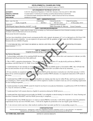 Fillable Da Form 4856 - Fill Online, Printable, Fillable, Blank ...