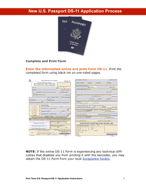 Ds 11 Passport Form