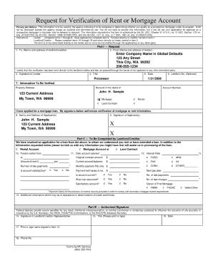 Verification Of Rent Formpdffillercom