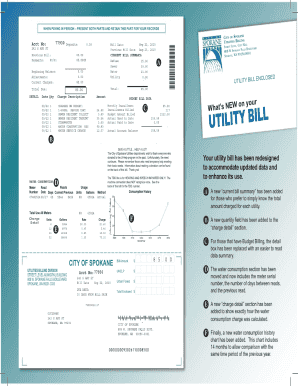 Fake Utility Bill Fill Online Printable Fillable Blank - Fake invoice maker for service business