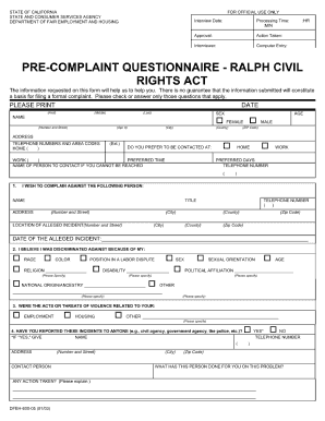 legal complaint template forms fillable printable samples for