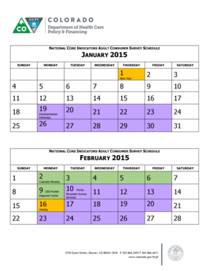 Printable 2015 Calendars: 2015 Calendar Three Months Per Page