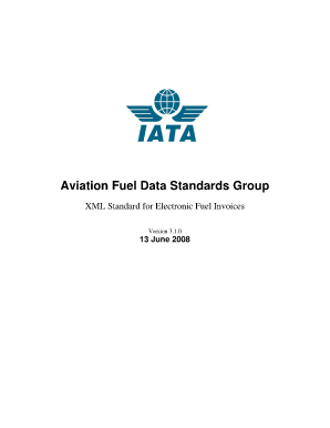 airline fuel bill sample form
