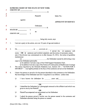 nys uniform court forms ud 1 rev 2011