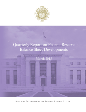 Quarterly Report on Federal Reserve Balance Sheet Developments, March 2015 - federalreserve