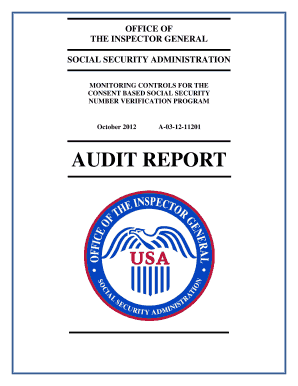 Monitoring Controls for the Consent Based Social Security Number Verification Program