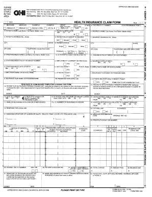 Printable Cms 1500 Form - Fill Online, Printable, Fillable, Blank ...