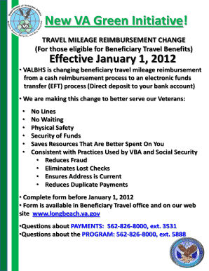 Long Beach Va Travel Pay - Fill Online, Printable, Fillable, Blank ...