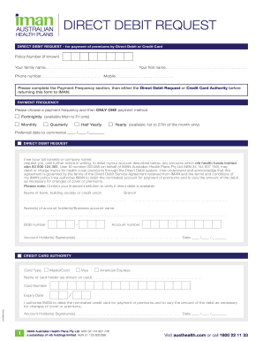 23 Printable direct debit request form template - Fillable ... on privacy form, lease application form, credit help, home application form, waiver application form, credit training, visa application form, tax application form, quote request form, loan application form, sample personal financial statement form, credit brochure,