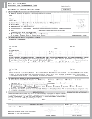 Kyc Form Of Uco - Fill Online, Printable, Fillable, Blank