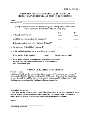 Form Omb# 0938 0214 - Fill Online, Printable, Fillable, Blank ...