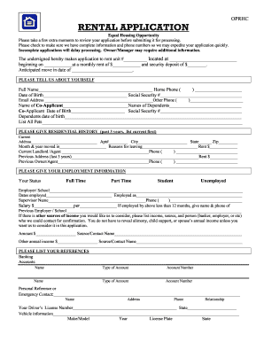 photograph regarding Printable Rental Application Form named 17 Printable apartment software kind document Templates
