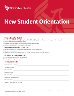 New Student Orientation - University of Phoenix - phoenix