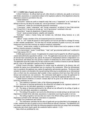 IAC Ch 1, p.1 567 1.11(68B) Sales of goods and services. 1.11(1 ... - legis iowa