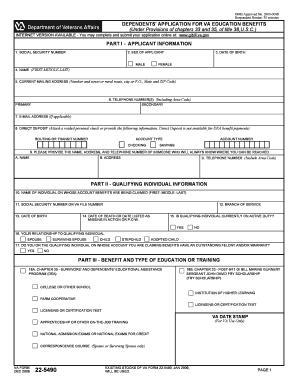Va Form 22 1990e Fillable - Fill Online, Printable, Fillable ...