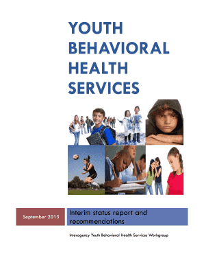 Youth Behavioral Health Services - Interim Status and Recommendations- Fairfax County, Va. - fairfaxcounty
