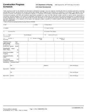 Hud Schedule Of Values - Fill Online, Printable, Fillable, Blank ...