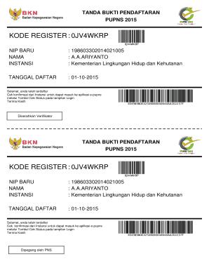 Fillable Online Kode Register 0jv4wkrp Fax Email Print Pdffiller