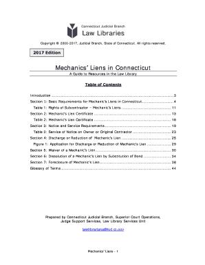 Mechanics Lien Filing Form Ct - Fill Online, Printable, Fillable ...