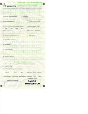 Indian immigration arrival form pdf – Best Downloads and Utilities