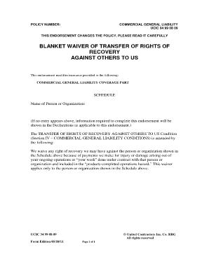 waiver of rights form fill online printable fillable blank pdffiller. Black Bedroom Furniture Sets. Home Design Ideas