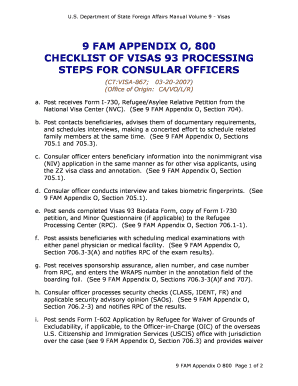 Visa 93 Biodata Form - Fill Online, Printable, Fillable, Blank