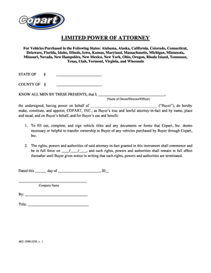 Bill of sale form tennessee motor vehicle power of for Tennessee motor vehicle bill of sale form