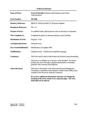 Proof Of Heirship Affidavit Forms And Templates Fillable