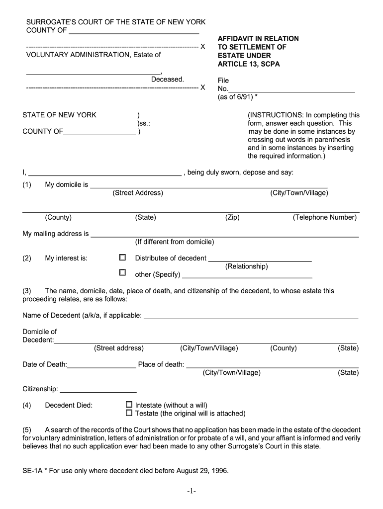 NY SE 30A 30996 20230   Complete Legal Document Online   US Legal Forms