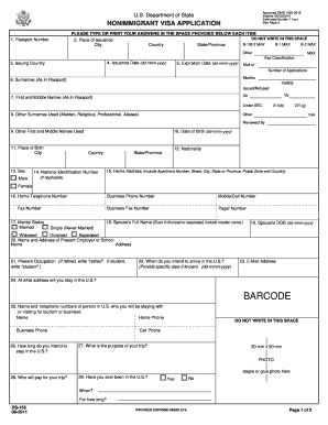 form ds 160 pdf Ds 160 Blank Form Download - Fill Online, Printable, Fillable, Blank ...