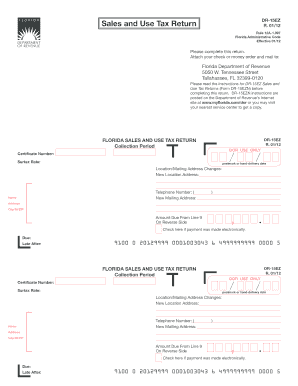 Florida Sales Tax Form - Fill Online, Printable, Fillable, Blank ...