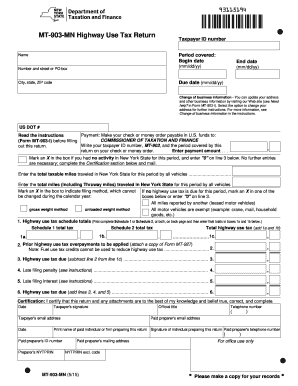 2015-2017 Form NY DTF MT-903-MN Fill Online, Printable, Fillable ...