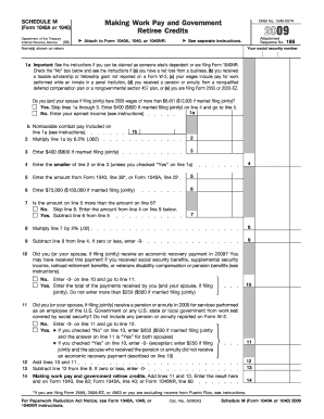 2010-2020 Form IRS 1040/1040A
