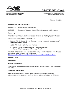 Employee Overpayment Recovery Letter Edit Fill Print Download
