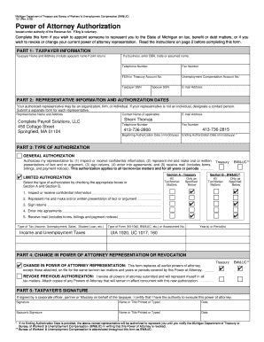 power of attorney form 151  Form 7 Michigan - Fill Online, Printable, Fillable, Blank ...